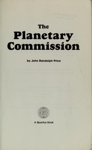 Cover of: The Planetary commission