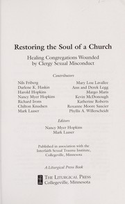 Cover of: Restoring the soul of a church