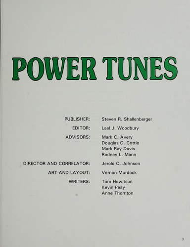 Power Tunes by