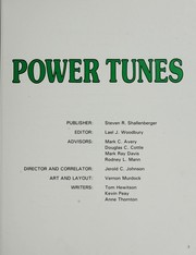 Cover of: Power Tunes |
