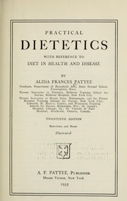 Cover of: Practical dietetics