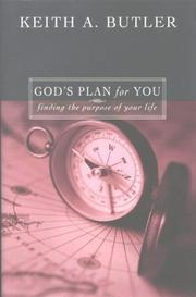 Cover of: God's Plan for You | Keith Butler
