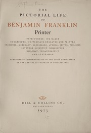 Cover of: The pictorial life of Benjamin Franklin | Brad Stephens