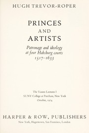 Cover of: Princes and artists