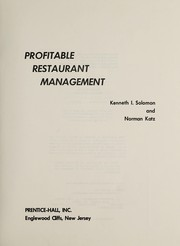 Profitable restaurant management