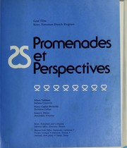 Cover of: Promenades et perspectives
