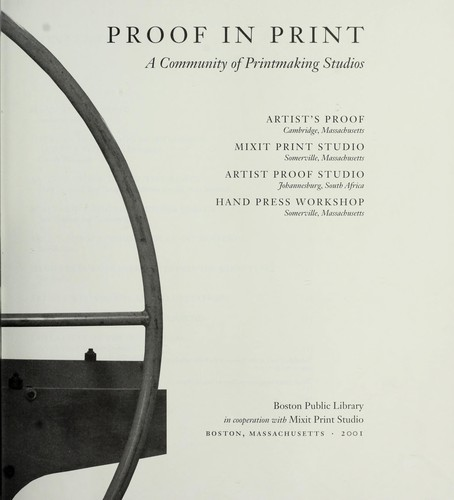 Proof in Print by