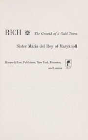 Cover of: Prospero strikes it rich | Maria del Rey Sister.