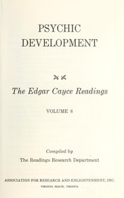 Cover of: Psychic development