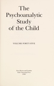 Cover of: The Psychoanalytic Study of the Child |