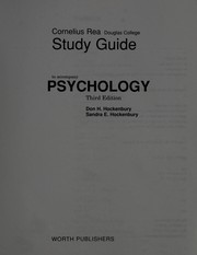 Cover of: Psychology, Third Edition