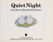 Cover of: Quiet night