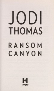 Cover of: Ransom Canyon | Jodi Thomas