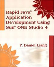 Cover of: Rapid Java Application Development with Sun ONE Studio 4