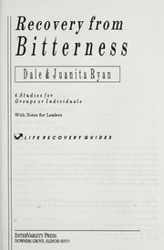 Cover of: Recovery from bitterness