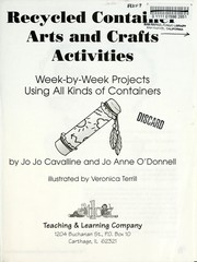 Cover of: Recycled Container Arts and Crafts Activities | Jo Jo Cavalline