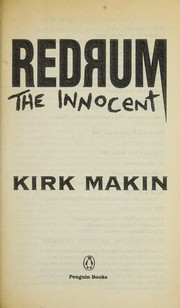 Cover of: Redrum the innocent | Kirk Makin