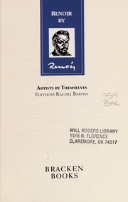 Cover of: Renoir by Renoir