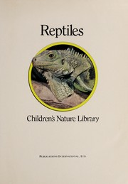 Cover of: Reptiles