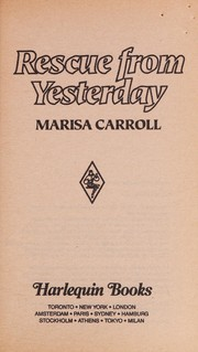 Cover of: Rescue from Yesterday | Marisa Carroll