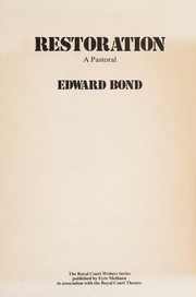 Cover of: Restoration