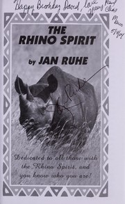 Cover of: The Rhino Spirit |