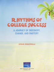 Cover of: Rhythms of college success | Stephen Piscitelli