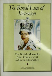 Cover of: The Royal Line of Succession |