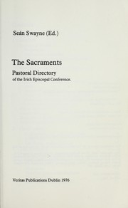 Cover of: The sacraments |