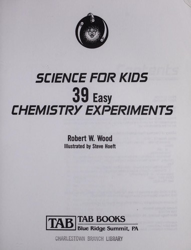 Science for kids by Wood, Robert W.