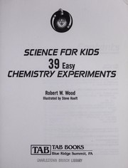 Cover of: Science for kids | Wood, Robert W.