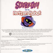 Cover of: Scooby-Doo! and the rotten robot