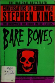 Cover of: Bare bones: conversations on terror with Stephen King
