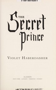 Cover of: The secret prince | Violet Haberdasher