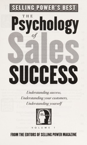 The Psychology of Sales Success by Gerhard Gschwandtner