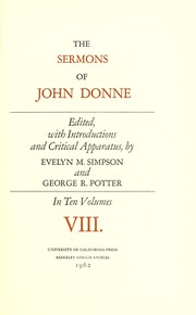 Cover of: Sermons: selected passages