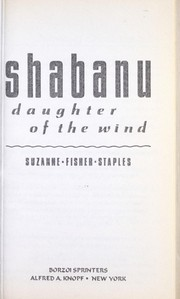 Cover of: Shabanu : daughter of the wind