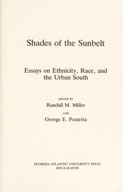 Cover of: Shades of the sunbelt