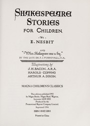 Cover of: Shakespeare stories for children
