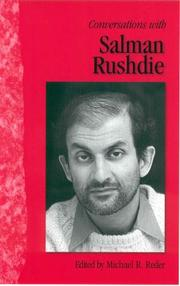 Cover of: Conversations with Salman Rushdie / edited by Michael Reder