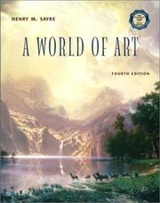 Cover of: A World of Art with CD-ROM