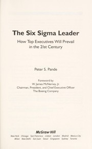 Cover of: The Six Sigma leader | Peter S. Pande