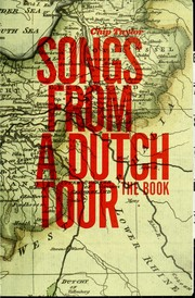 Cover of: Songs from a Dutch tour