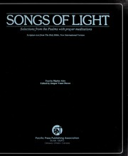 Cover of: Songs of light : selections from the Psalms with prayer meditations