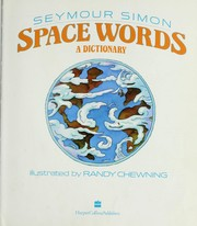 Cover of: Space words | Seymour Simon