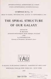 Cover of: The spiral structure of our galaxy