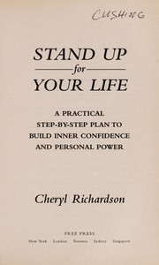 Cover of: Stand up for your life | Cheryl Richardson