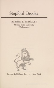 Cover of: Stopford Brooke | Fred L. Standley