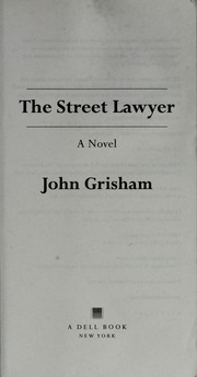 Cover of: The Street Lawyer | John Grisham