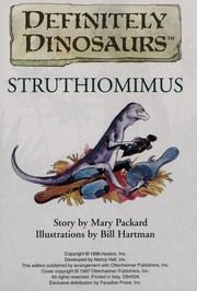 Cover of: Struthiomimus | Mary Packard